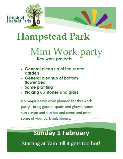Hampstead Park Mini Clean Up