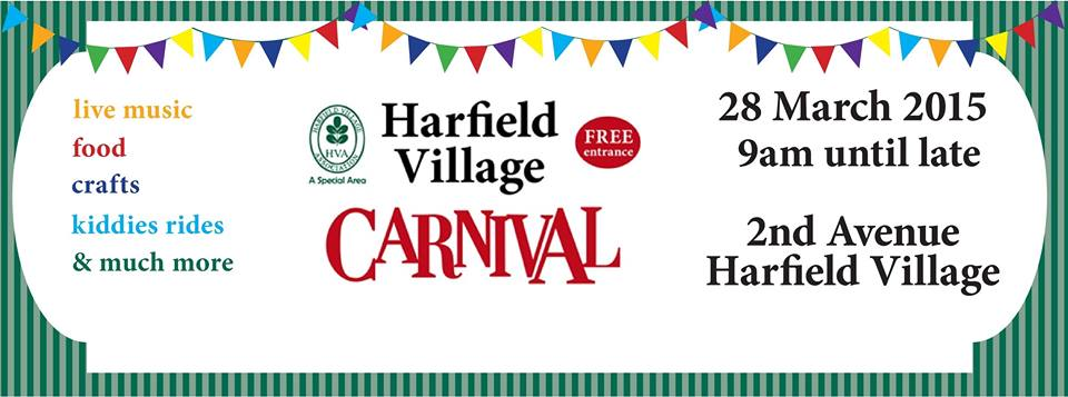 harfield village carnival 2015