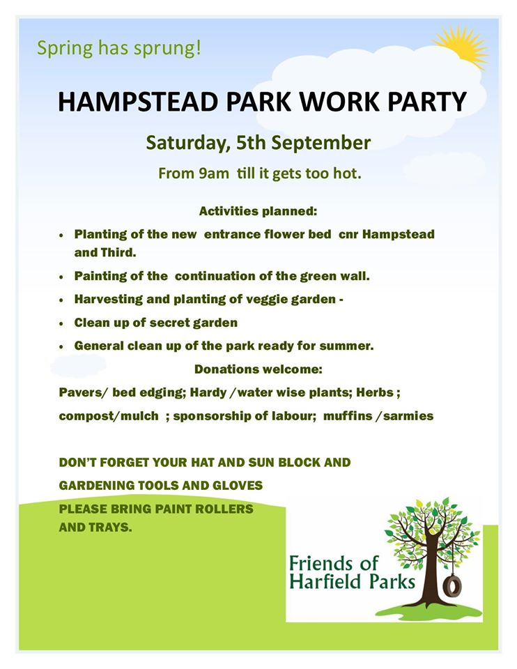 Hampstead Work Party Flyer