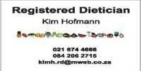 Kim Hofmann Dietician