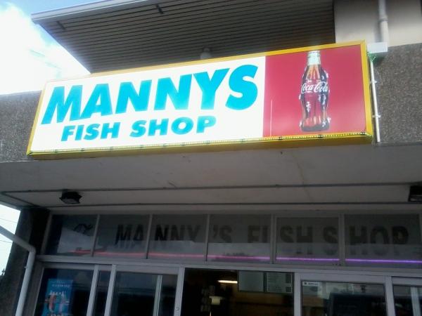 Mannys Fish Shop